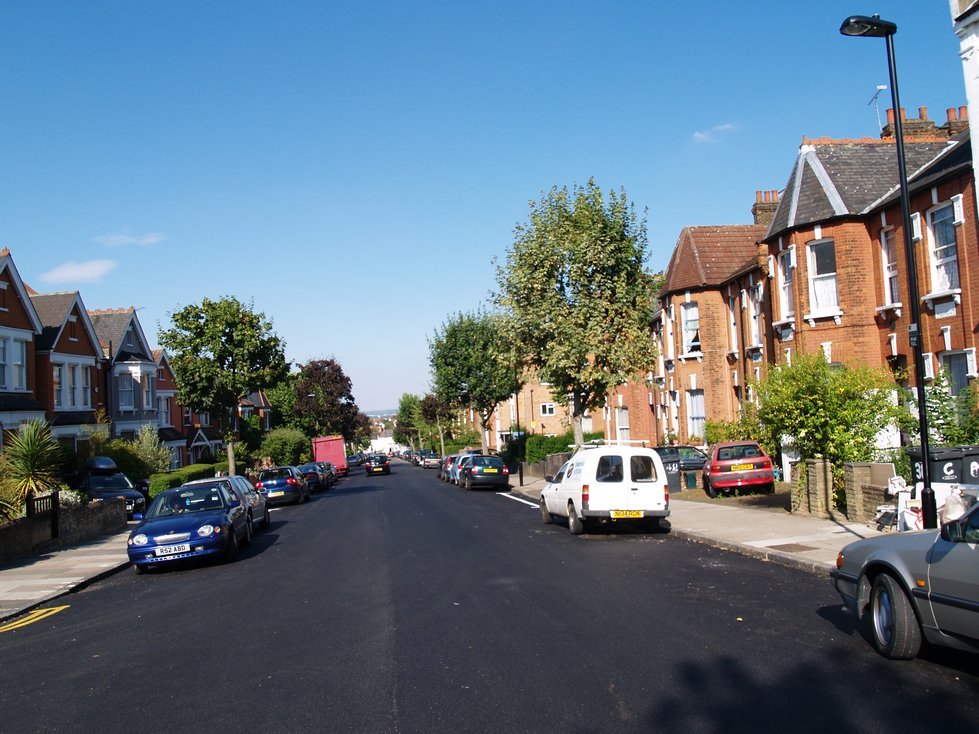 The Lost Muswell Stream. The present day Muswell Road, N10 is the location  of the