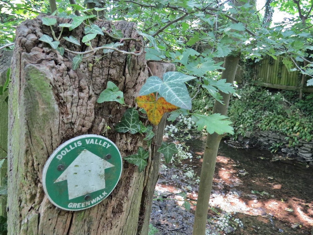 The Dollis Valley Greenwalk  is a long distance footpath between Moat Mount Nature Reserve in Mill Hill and Hampstead Heath. It mainly follows the course of the Dollis Brook & some of the Mutton Brook