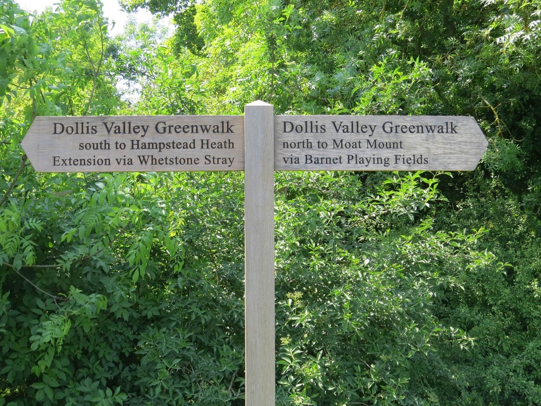 Dollis Brook - Dollis Valley Greenway