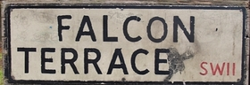 London's Lost Rivers - The Falcon Brook is remembered in the name Falcon Terrace