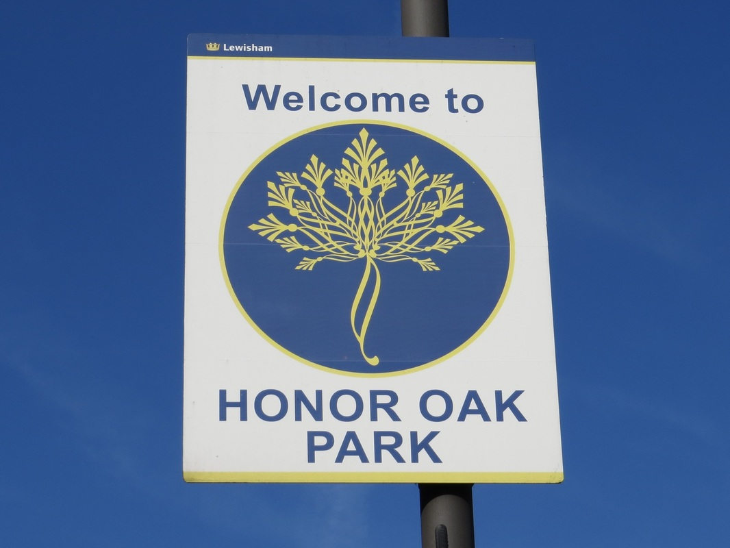Welcome to Honor Oak Park. Source of the River Peck