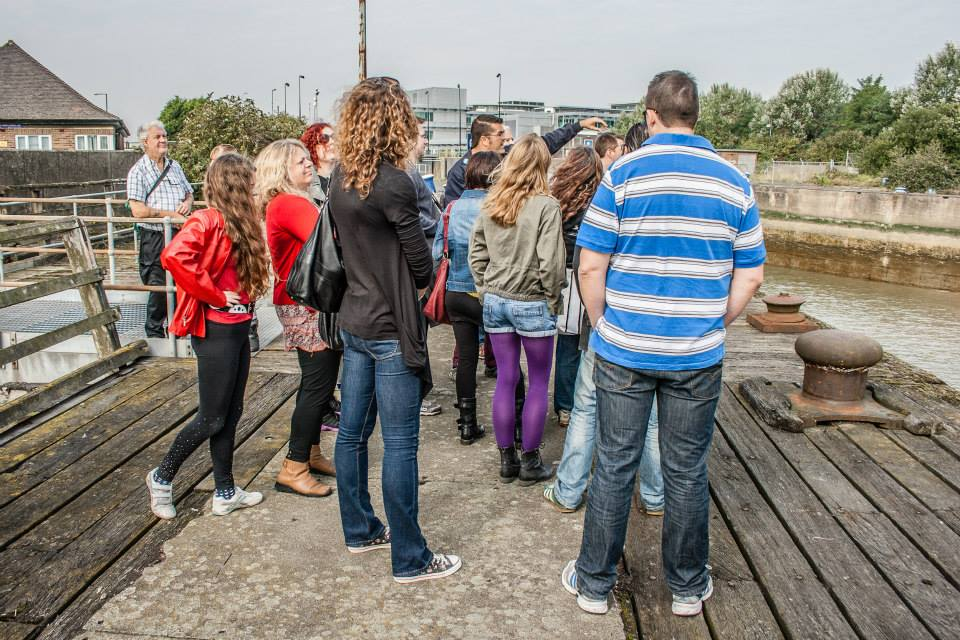 Off the tourist trail. Guided walk around the lesser popular parts of East london