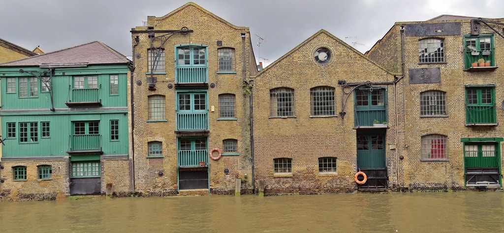 Mouth of London's Lost River the Black Ditch in Limehouse on Paul Talling's Guided Walking Tour