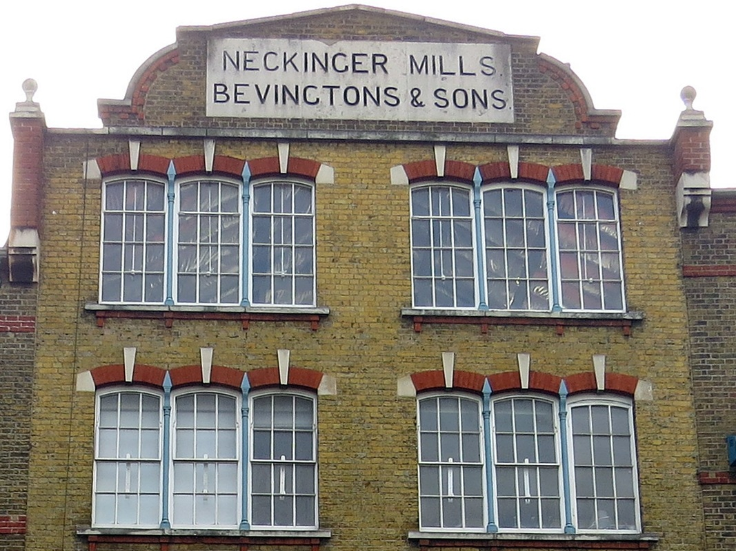 pictureby Paul Talling of London's Lost Rivers of the Neckinger Mills in Bermondsey, South London